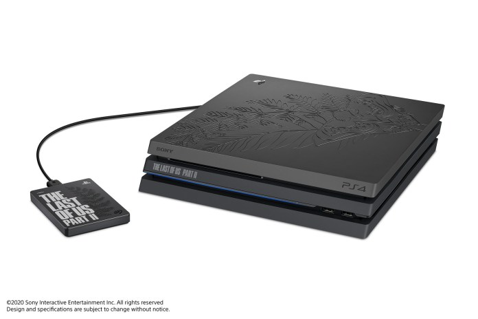 Sony Revealed A New Limited-Edition PS4 Pro Bundle For The Last of Us Part II