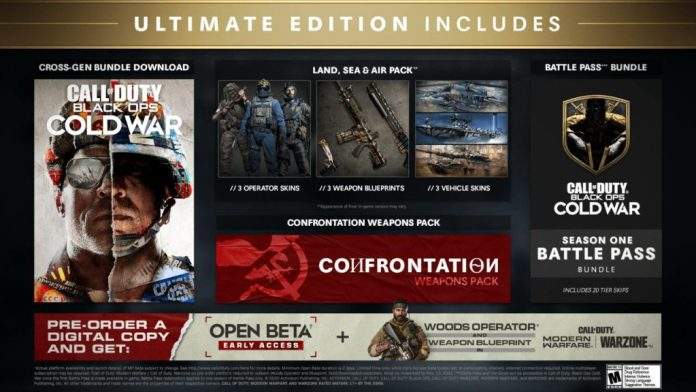 Call of Duty: Black Ops Cold War - Pre-Orders