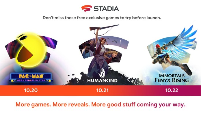 New Demos For Immortals: Fenyx Rising and Pac-Man Stadia Game For Limited Time