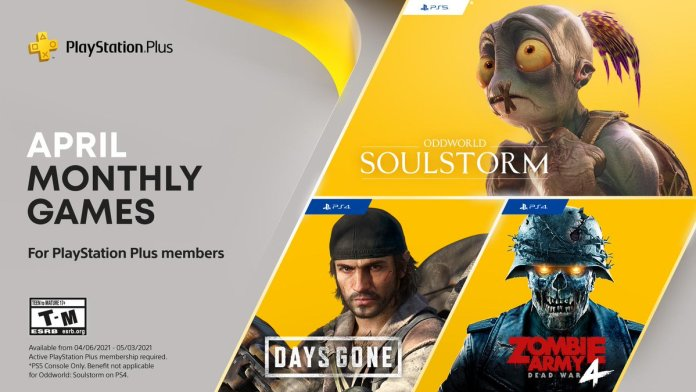 PlayStation Plus Games For April 2021 Announced