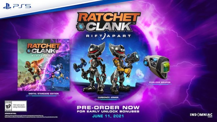 Ratchet & Clank: Rift Apart Preorder Guide - Bonuses and What Each Edition Includes