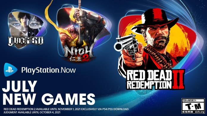 PlayStation Now Adds 7 Games Today, Including Red Dead 2, God Of War, Judgement, And More