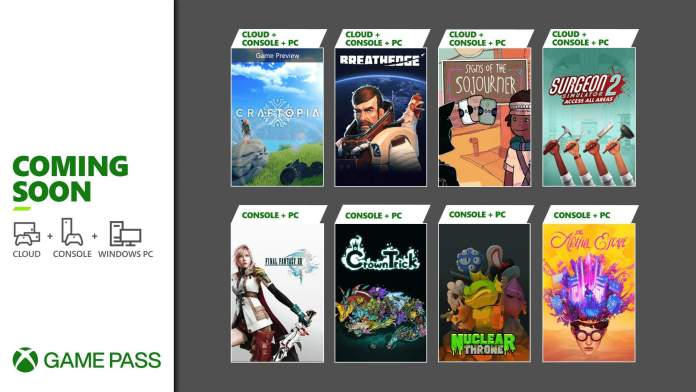 Xbox Game Pass Titles For September 2021