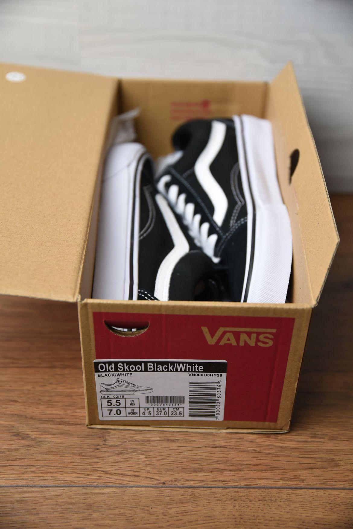 Original Vans Box