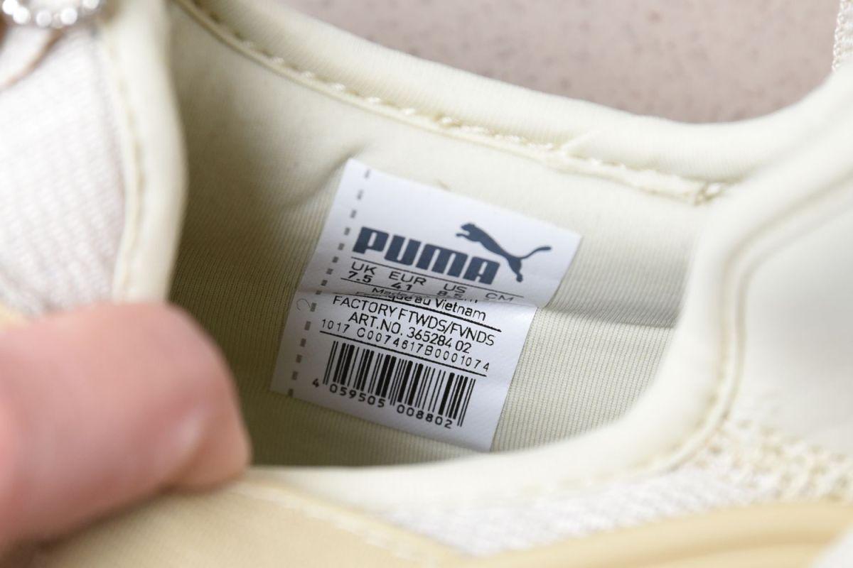 original puma shoes tag