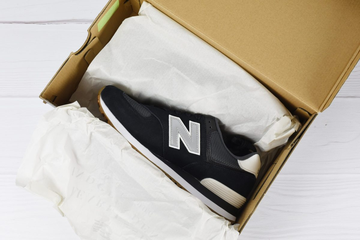 original new balance box