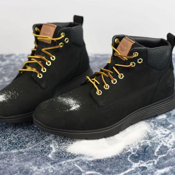 Jak usunąć z butów plamy po soli?