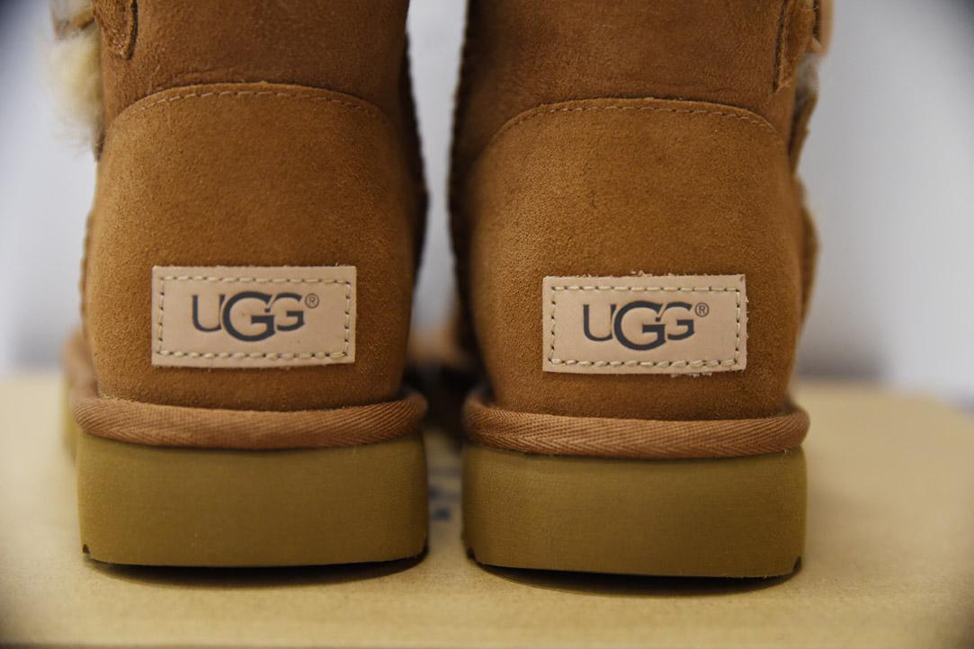 oryginalne buty UGG naszywka