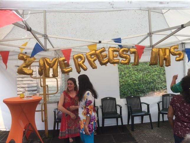 Een gedicht op het zomerfeest 2017 van het  inloophuis
