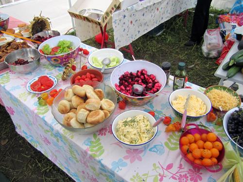 Salades en ander lekkers