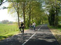 fietstocht en rozen maken 035