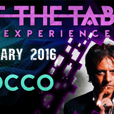 At the Table Live Lecture Rocco January 6th 2016