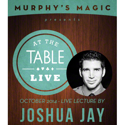 At the Table Live Lecture - Joshua Jay 10/8/2014