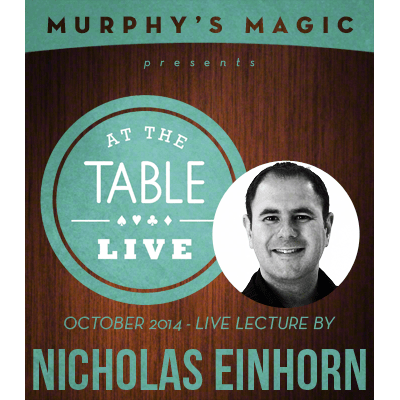 At the Table Live Lecture - Nicholas Einhorn 10/22/2014