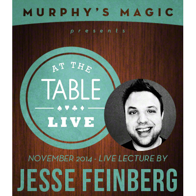 At the Table Live Lecture - Jesse Feinberg 11/5/2014
