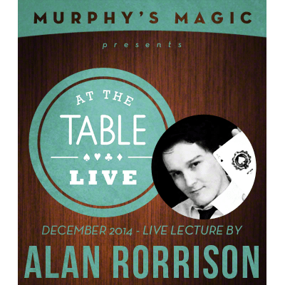 At the Table Live Lecture - Alan Rorrison 12/10/2014