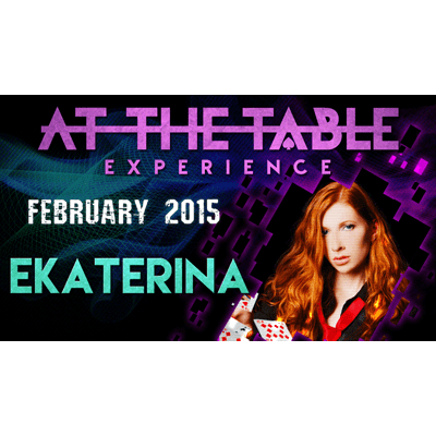At the Table Live Lecture - Ekaterina 2/25/2015