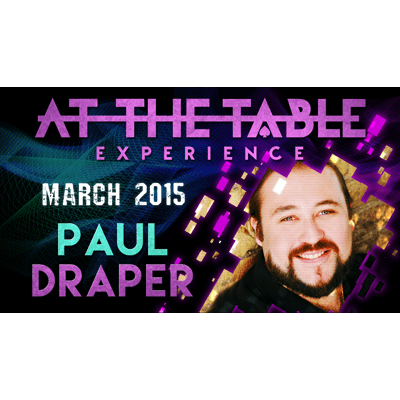 At the Table Live Lecture - Paul Draper 3/11/2015
