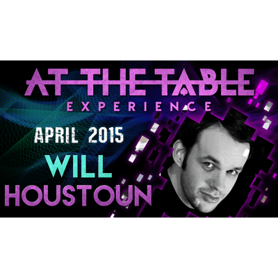 At the Table Live Lecture - Will Houstoun 4/15/2015