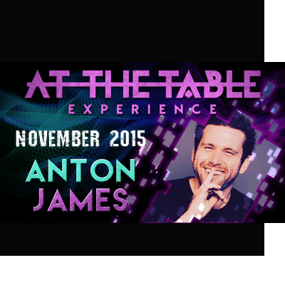At the Table Live Lecture Anton James November 4th 2015