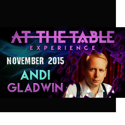 At the Table Live Lecture Andi Gladwin November 18th 2015