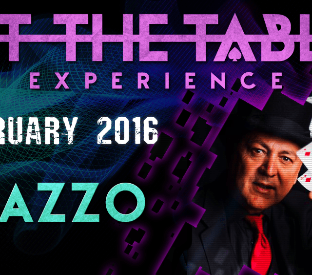 At the Table Live Lecture Gazzo February 3rd 2016