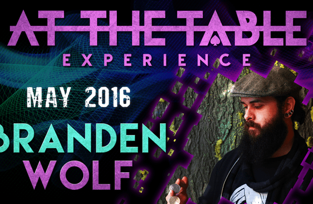 At the Table Live Lecture Branden Wolf May 4th 2016