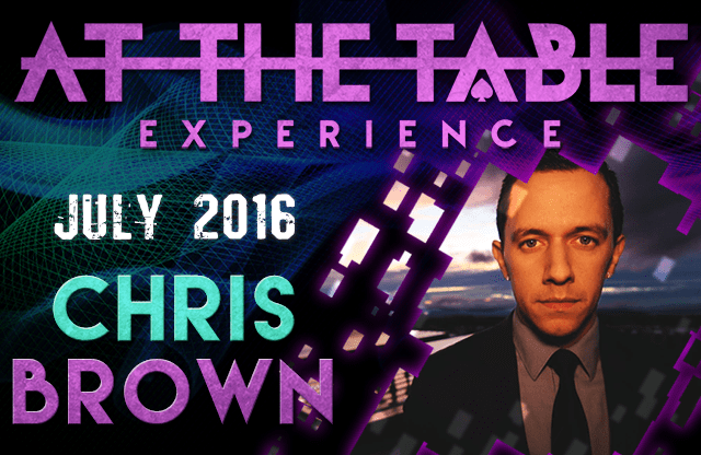 At the Table Live Lecture Chris Brown July 6th 2016