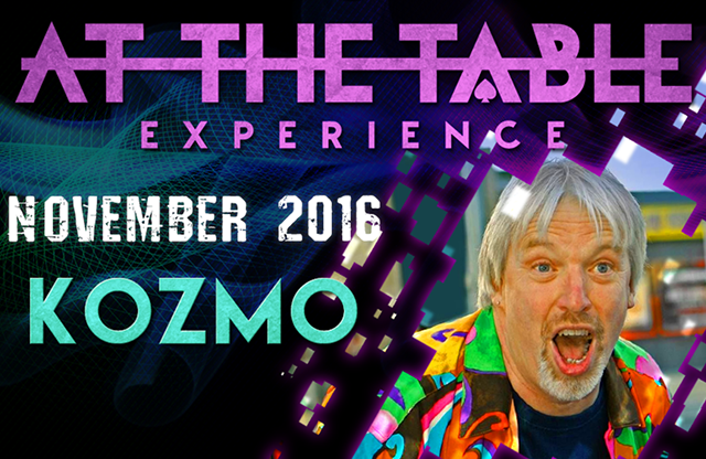 At The Table Live Lecture Kozmo November 16th 2016