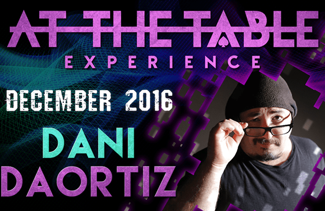At The Table Live Lecture Dani DaOrtiz 2 December 21st 2016