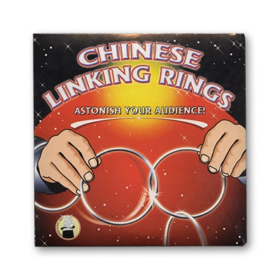 Chinese Linking Rings (5 inch)