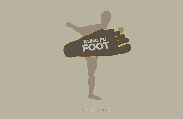Kung Fu Foot (Gimmick and Online Instructions) by Héctor Mancha