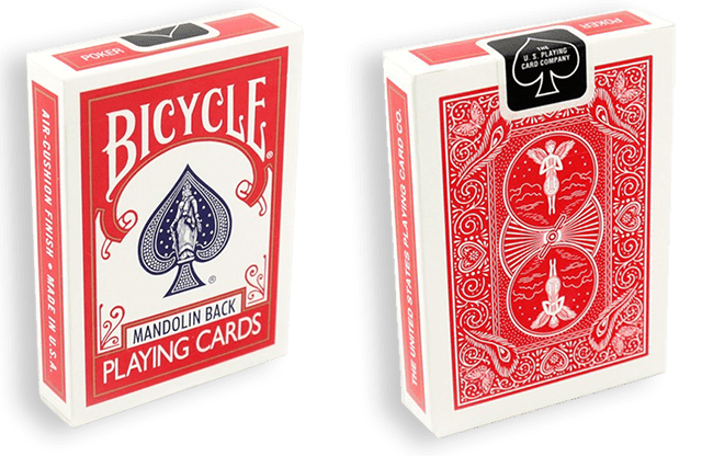 Bicycle Playing Cards 809 Mandolin (piros)