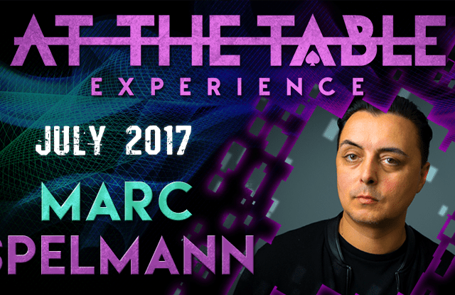 At The Table Live Lecture Marc Spelmann July 19th 2017