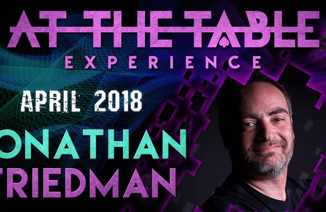 At The Table Live Jonathan Friedman April 4th, 2018