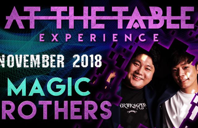 At The Table Live Magic Brothers November 21, 2018