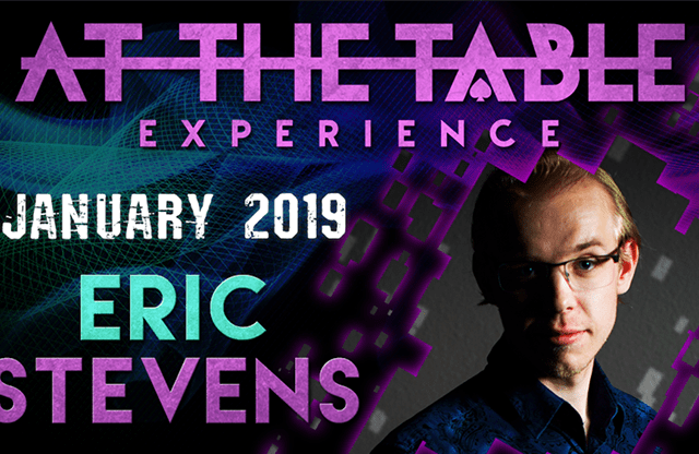 At The Table Live Lecture Eric Stevens January 16th 2019