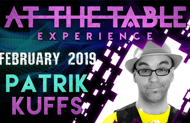 At The Table Live Lecture Patrik Kuffs February 20th 2019