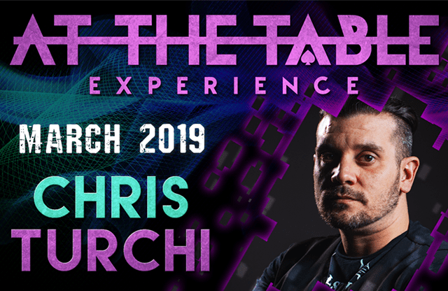 At The Table Live Lecture Chris Turchi March 20th 2019