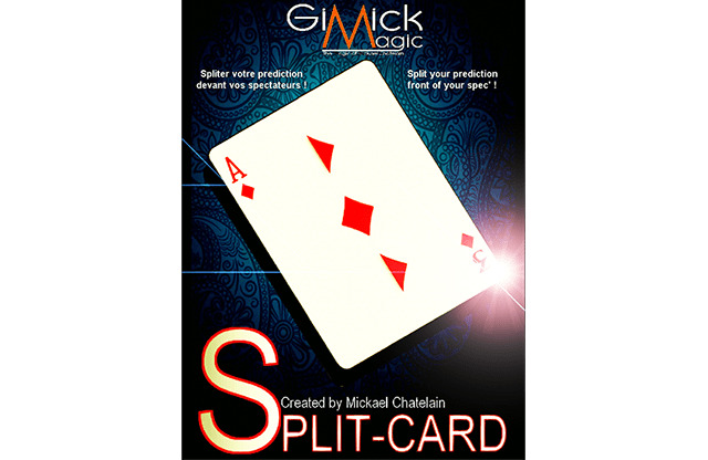 Split-Card (Red)