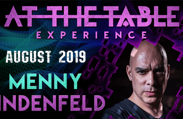 At The Table Live Lecture Menny Lindenfeld 3 August 21st 2019