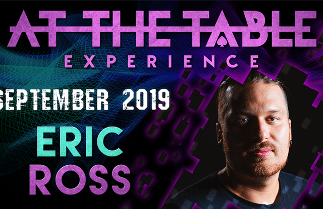 At The Table Live Lecture Eric Ross 2 September 18th 2019