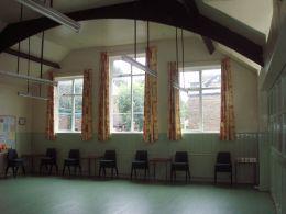 Inside of URC, Green Room