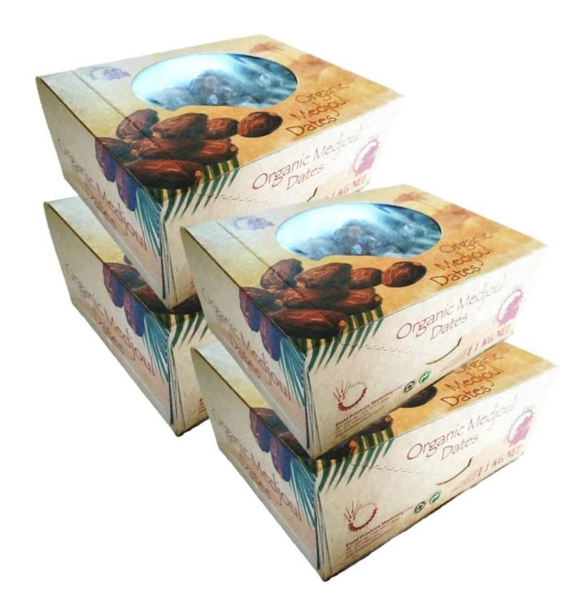 4 x1kg Øko Medjool (Medjoul) Dadler 4x1kg bio medjool medjoul datteln dattes dadels dates dadler dadlar datiles 4