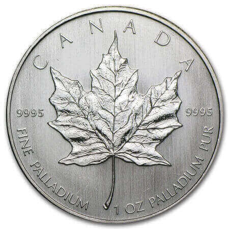 the Canadian Palladium Maple Leaf coin is perhaps the most popular choice to buy palladium