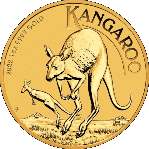 new 2018 coin designs of the Australian Kangaroo gold coins