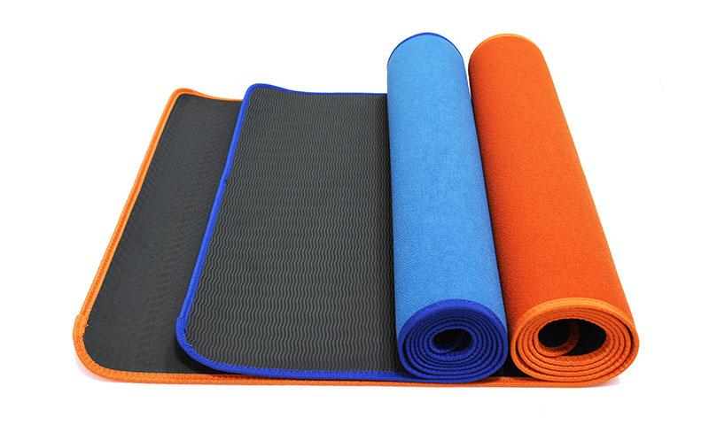 eco-friendly cotton yoga mat
