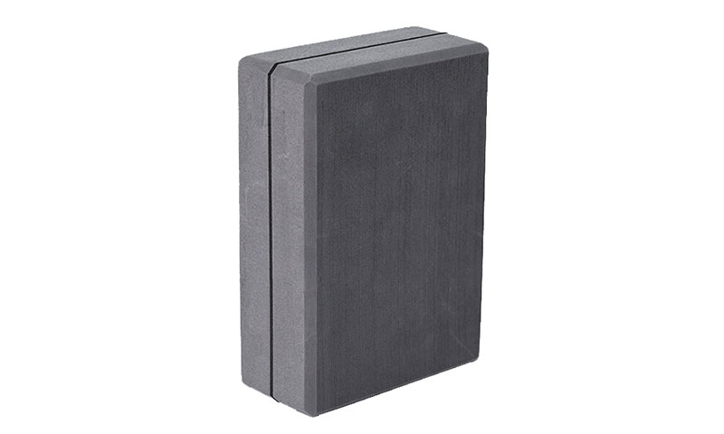 gray EVA yoga block