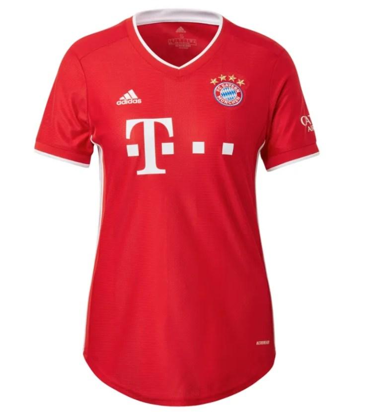 FC Bayern Munich 20/21 Women's Home Jersey by adidas