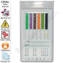 6 panel oral drug test kit